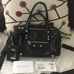 Authentic pre-owned Balencia Giant Mini Twiggy bag